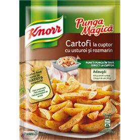 Knorr - Gewürze für Backofen Kartoffel mit Knoblauch und Rosmarin