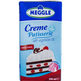 Meggle - Creme Patisserie with vegetable fat