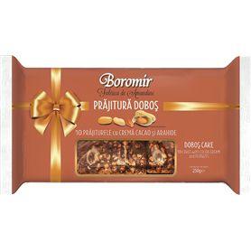 Boromir - Prăjitura Doboș - cu cremă de cacao și arahide