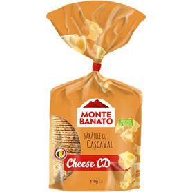 Monte Banato - Gesalzenes Knabbergebäck mit Käse