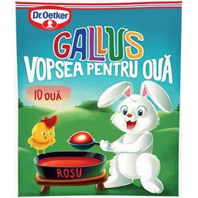 "Dr. Oetker - Gallus - Eierfarbe für 10 Eier ""Rot"""