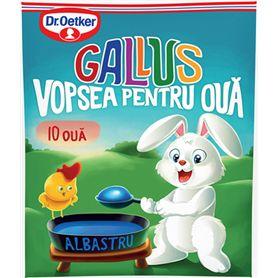 """Dr. Oetker - Gallus - Eierfarbe für 10 Eier """"Blau"""""""