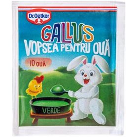 Dr. Oetker - Gallus - Paint for 10 green eggs