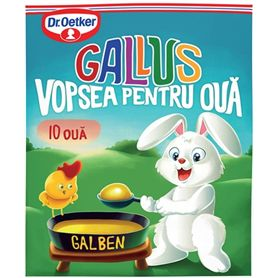 Dr. Oetker - Gallus - Paint for 10 yellow eggs