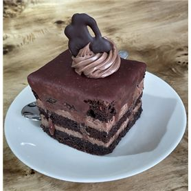 Amandina - Delicious dessert with lots of chocolate - 2 pieces