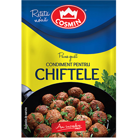 Cosmin - Condimente pentru Chiftele - Frikadellen, Gewürz