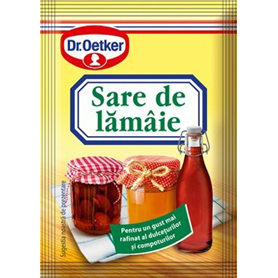 Dr. Oetker - Lemon salt