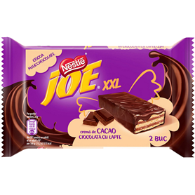 Joe XXL - Crispy wafers with cocoa cream coated in milk chocolate