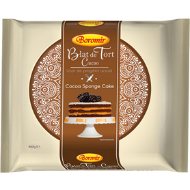 Boromir - Leaf - Cocoa sponge cake - Blat de Tort - Cacao