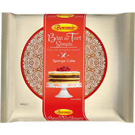 Boromir - Leaf - sponge cake - Blat de Tort Simplu
