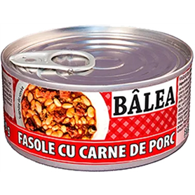 Bâlea - Beans with smoked pork meat