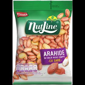 Nut Line - Geröstete Erdnüsse in roter Schale - mit Salz