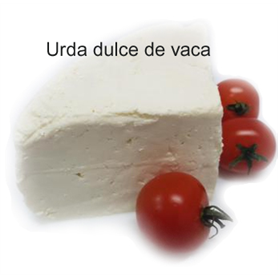 Urda dulce de vaca - Molkenweiss Kuhkäse